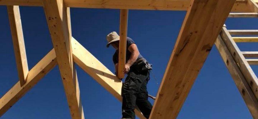בניה קלה מעץ