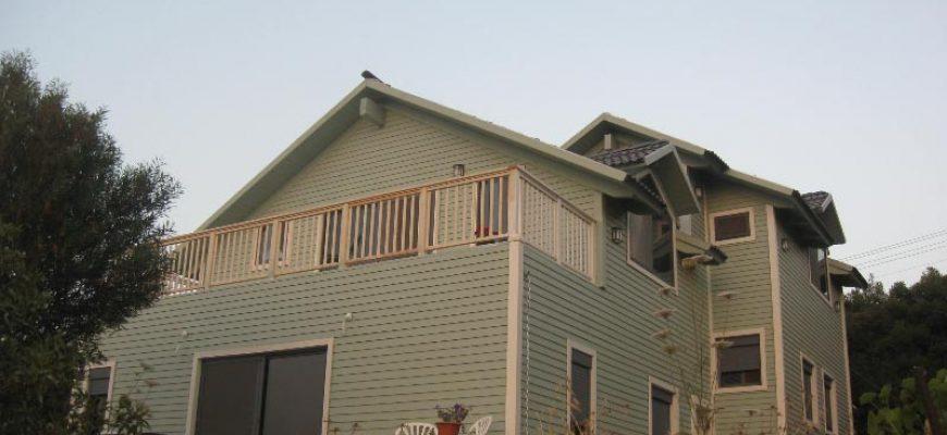 בית מגורים מעץ